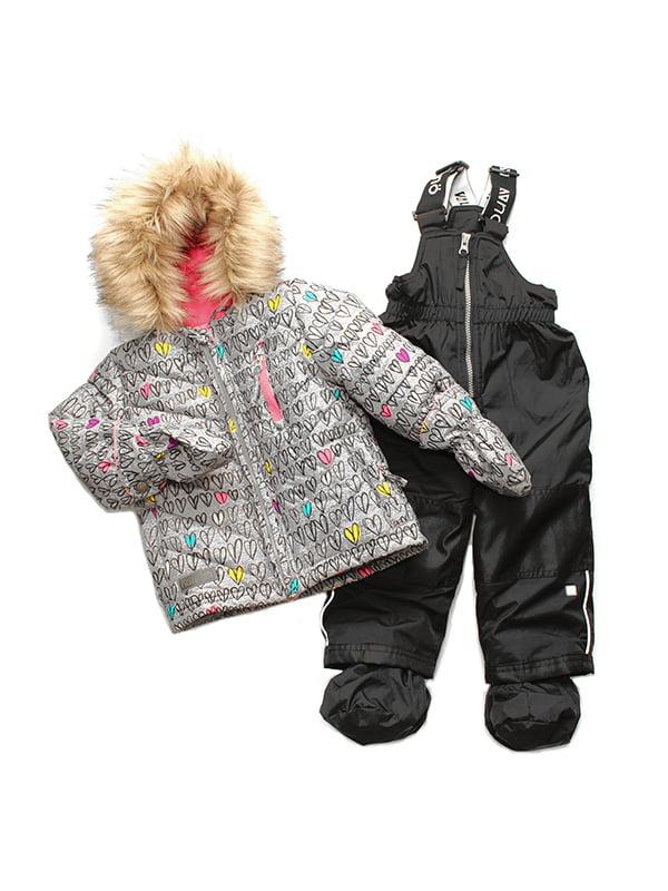 Комплект: куртка та напівкомбінезон | 3769895 | фото 2