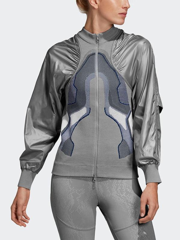 Куртка серая с рисунком | 4895880