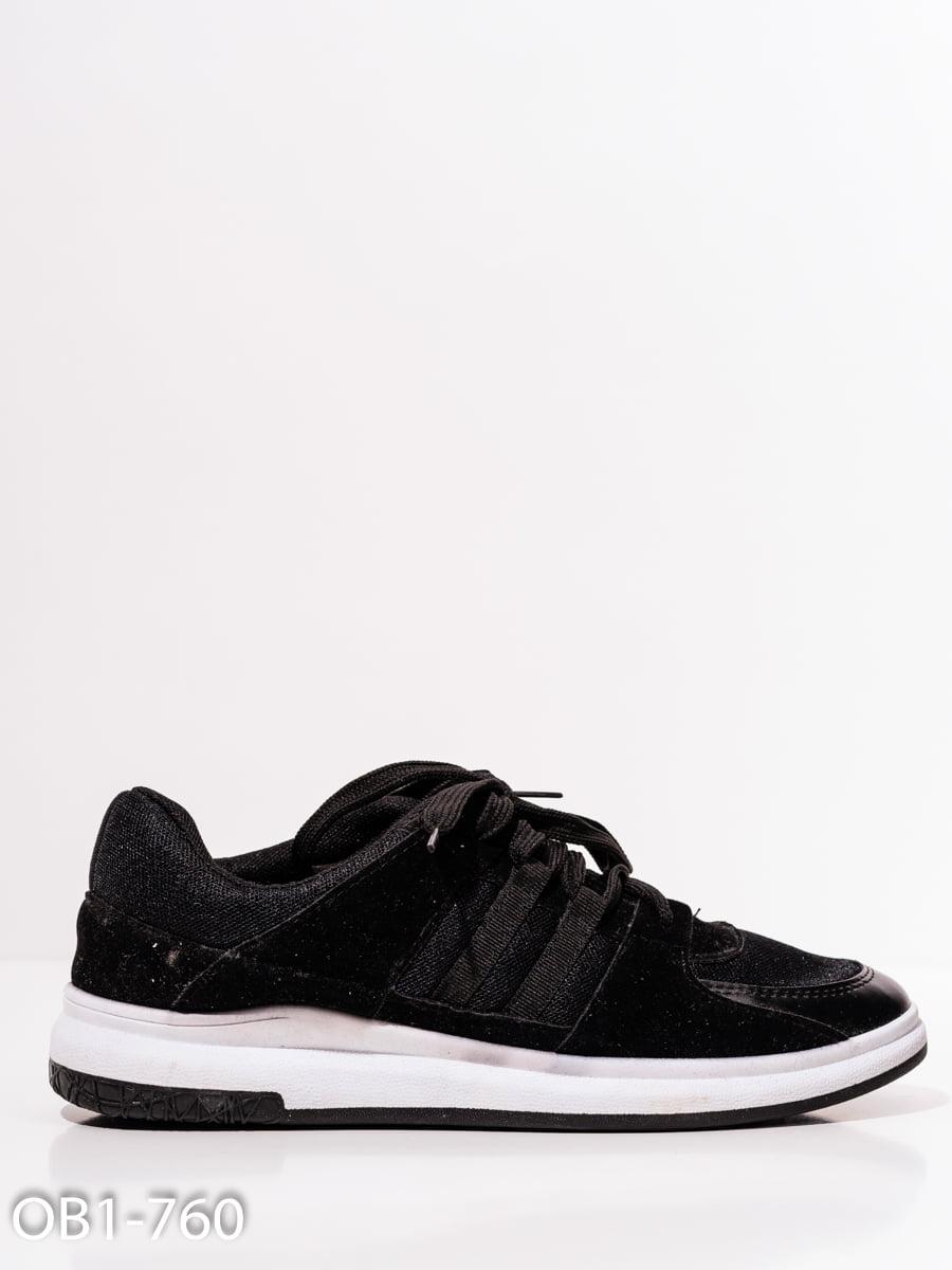 Кроссовки черные   4911756