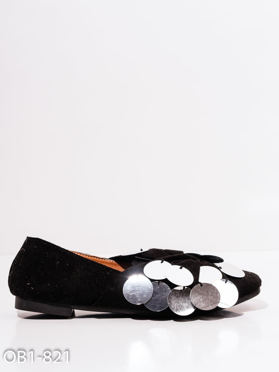 Балетки черные | 4911770