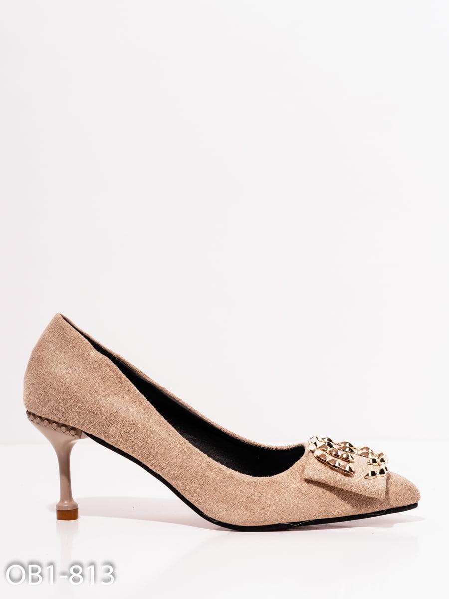 Туфли бежевые | 4911786