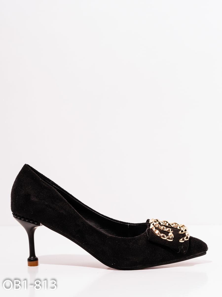 Туфли черные | 4911787