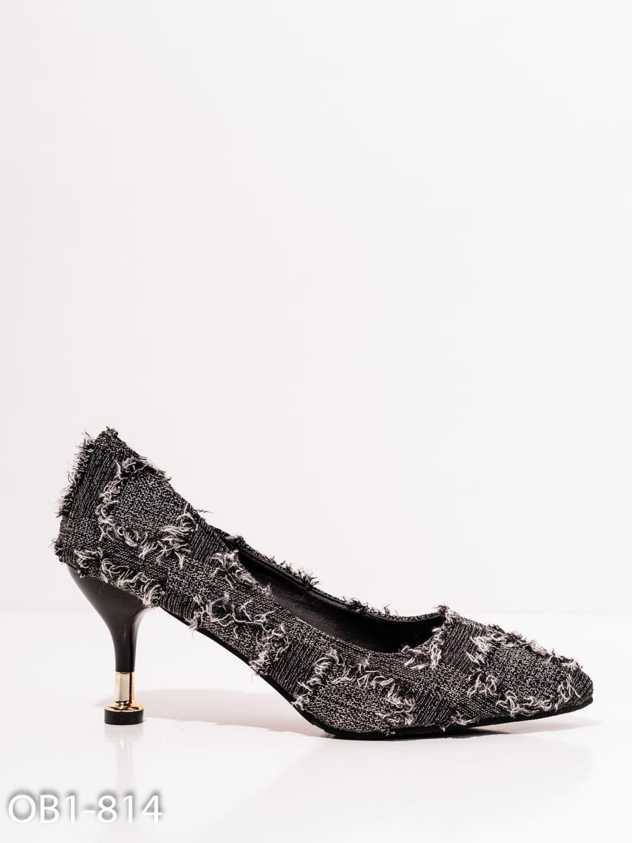 Туфли черные   4911831