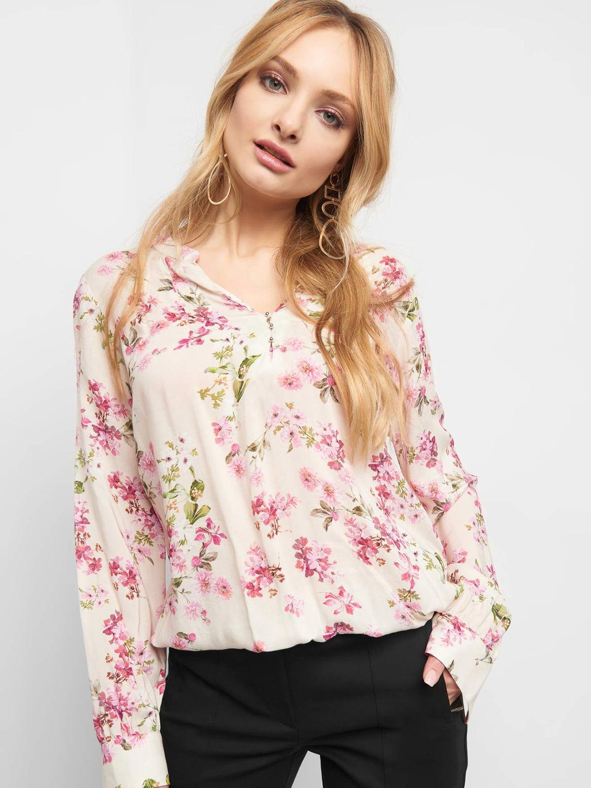 Блуза в квітковий принт | 4904209