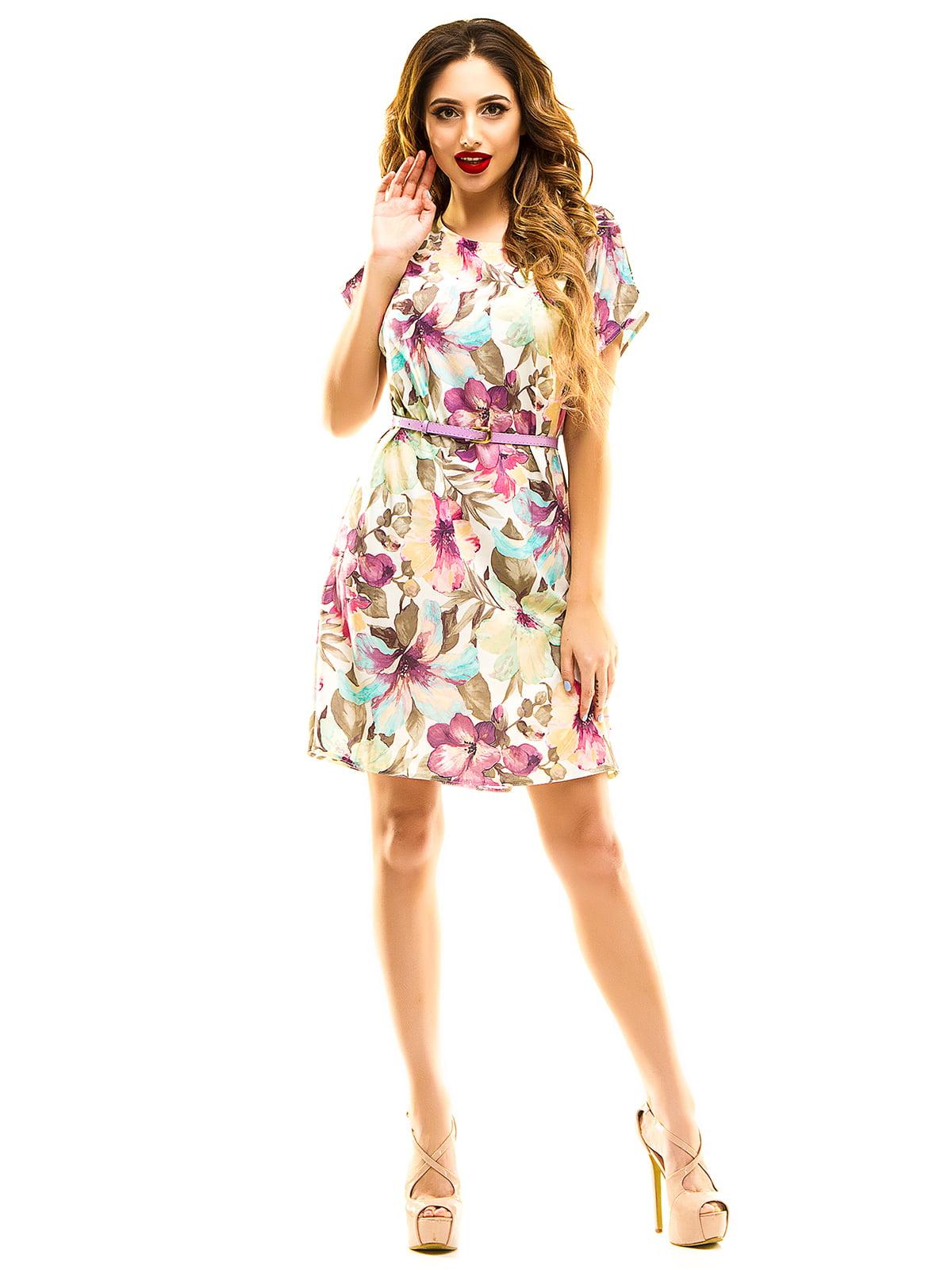 Сукня в квітковий принт | 4912929