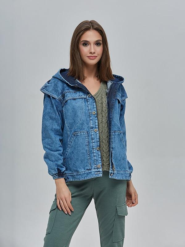 Куртка синя | 4912873