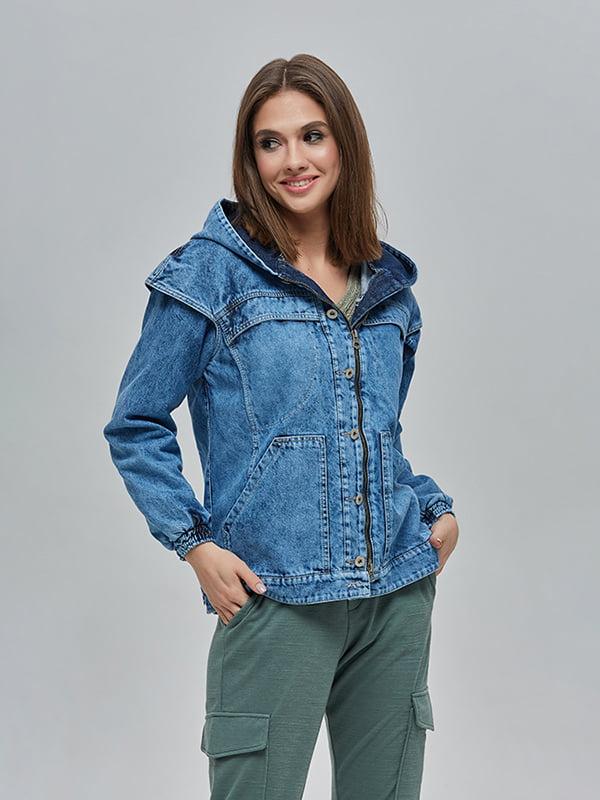 Куртка синя | 4912873 | фото 2