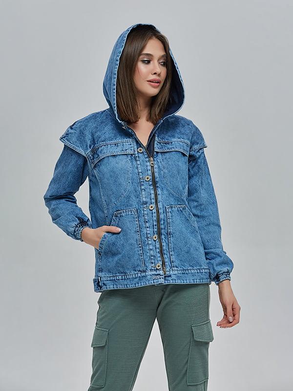 Куртка синя | 4912873 | фото 3