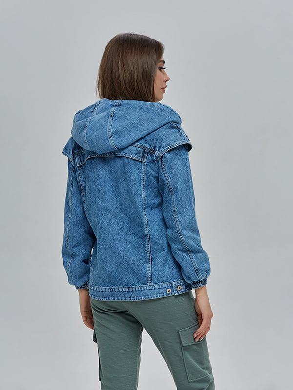 Куртка синя | 4912873 | фото 4