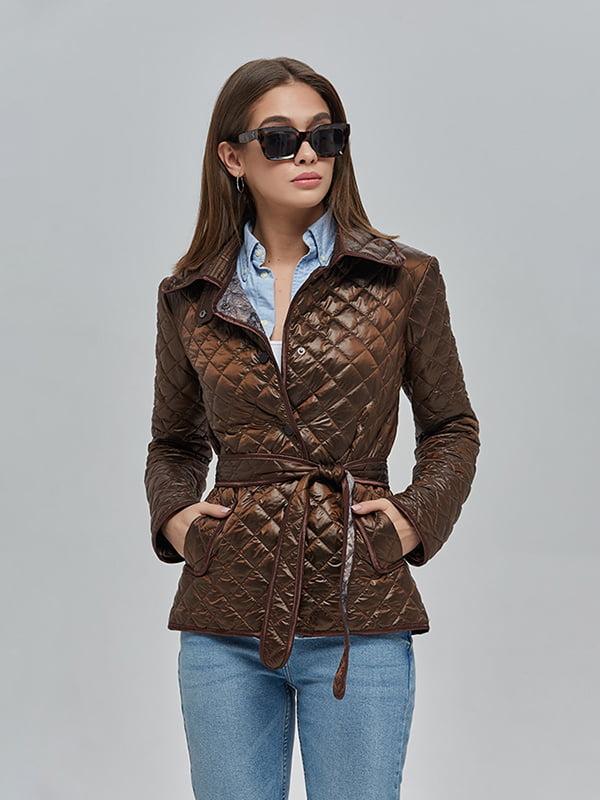 Куртка шоколадного кольору   4912874