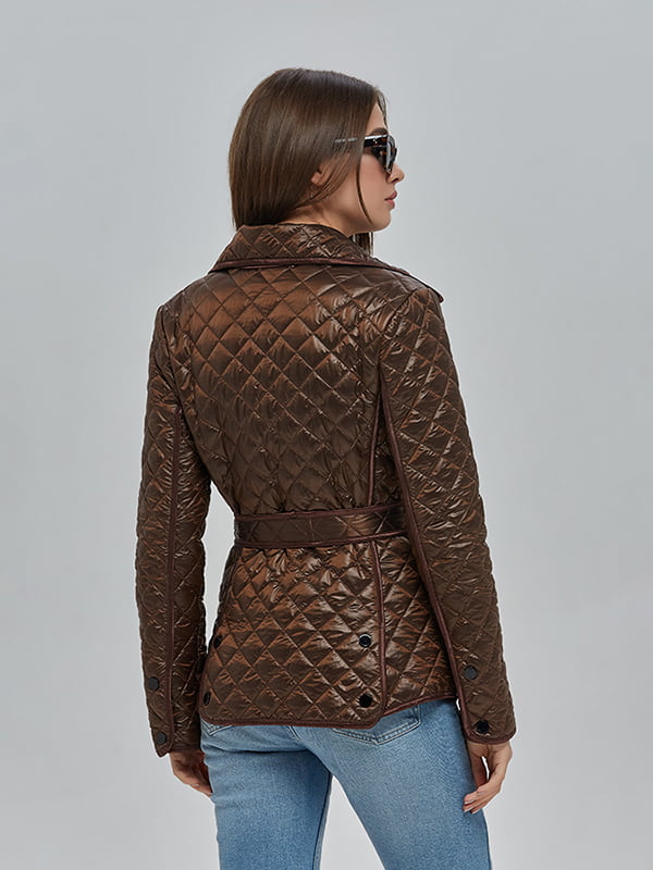 Куртка шоколадного кольору   4912874   фото 2
