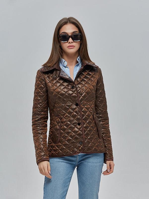 Куртка шоколадного кольору   4912874   фото 3