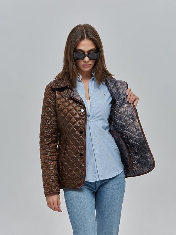 Куртка шоколадного кольору   4912874   фото 4