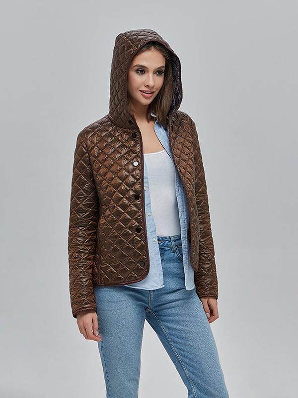 Куртка шоколадного цвета | 4912880