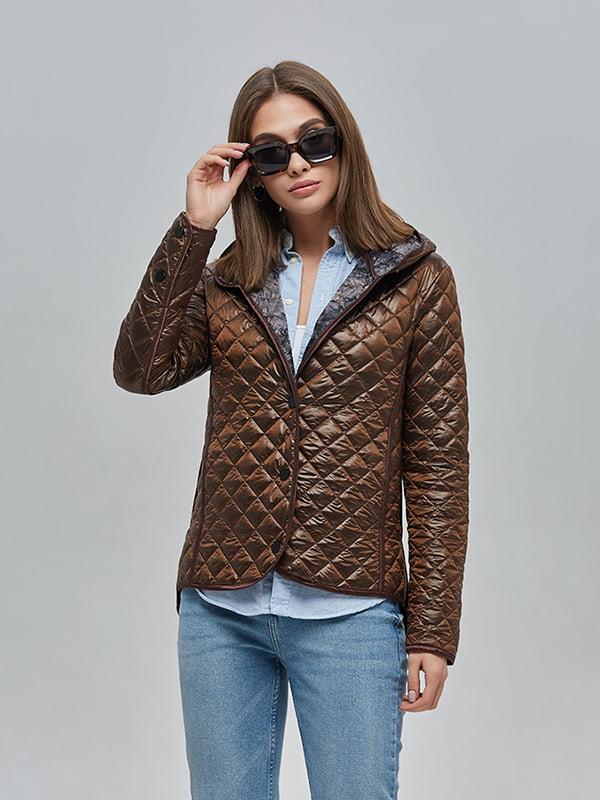 Куртка шоколадного цвета | 4912880 | фото 2