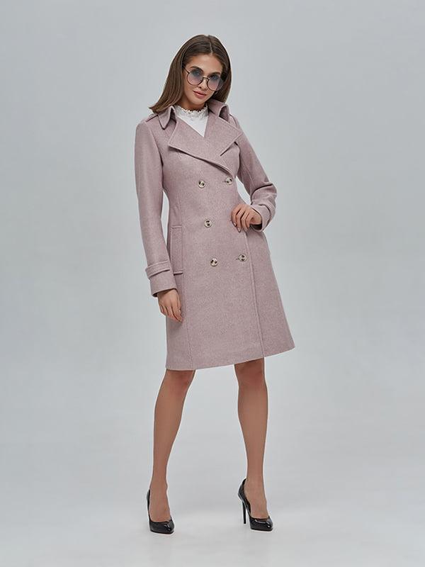 Пальто кольору пудри | 4912883