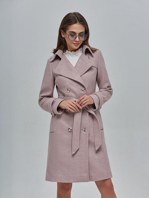 Пальто кольору пудри | 4912883 | фото 2