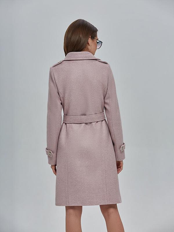 Пальто кольору пудри | 4912883 | фото 3