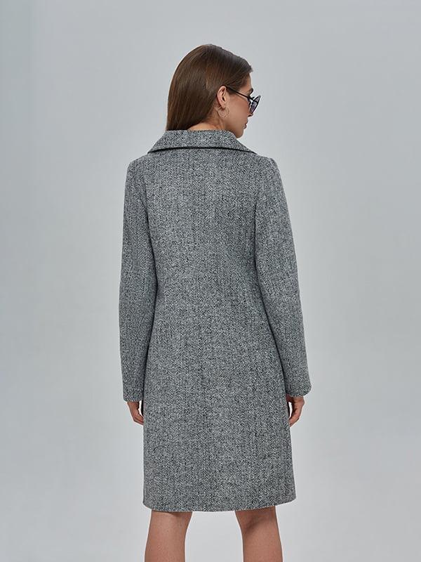Пальто сіре | 4912886 | фото 3
