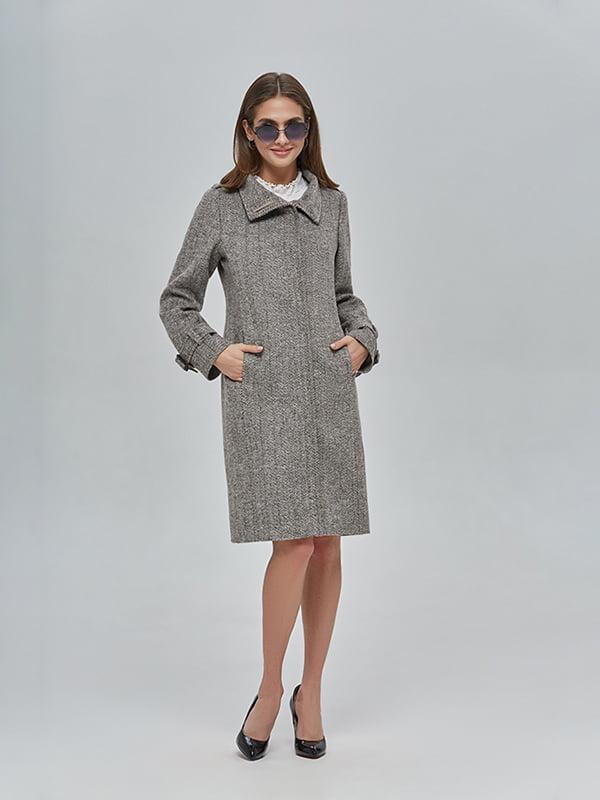 Пальто коричневе | 4912889
