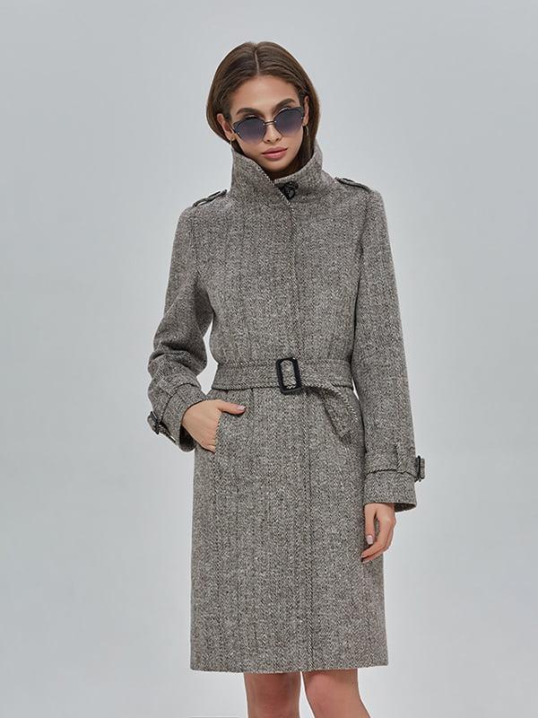 Пальто коричневе   4912889   фото 2