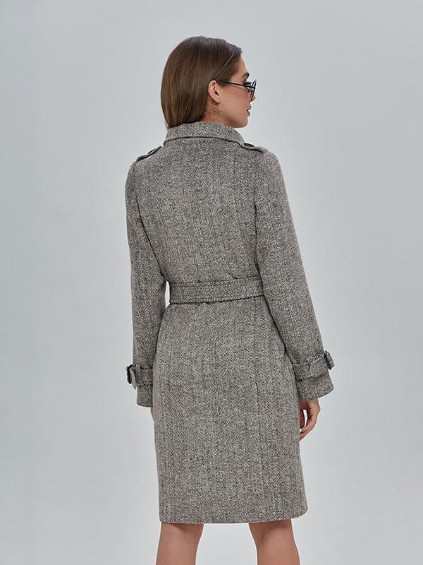 Пальто коричневе   4912889   фото 3