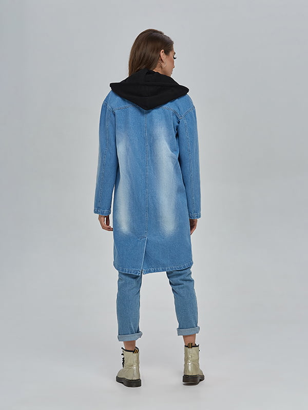 Плащ джинсовий синій | 4912897 | фото 4