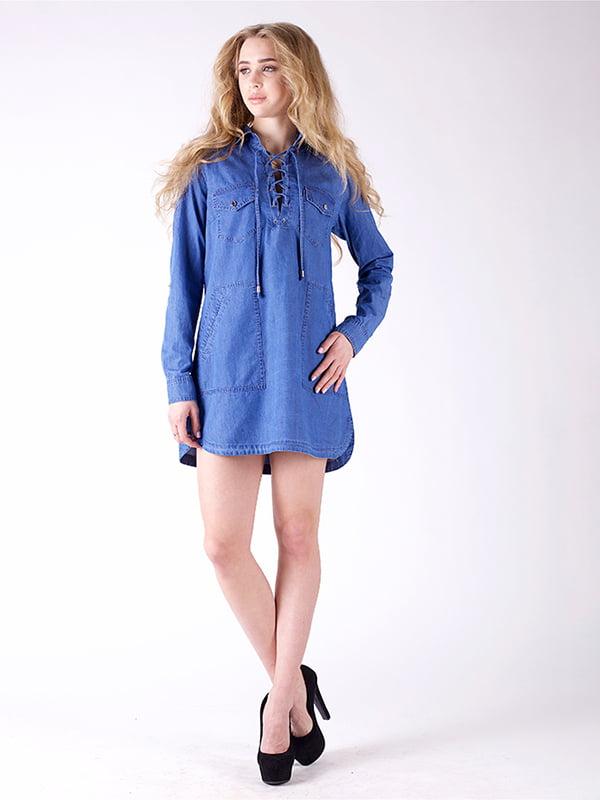 Сукня синя | 3277689 | фото 6
