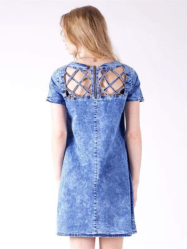 Сукня синя | 4187011 | фото 3