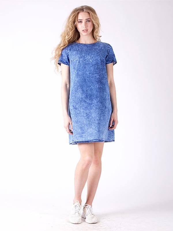 Сукня синя | 4187011 | фото 4