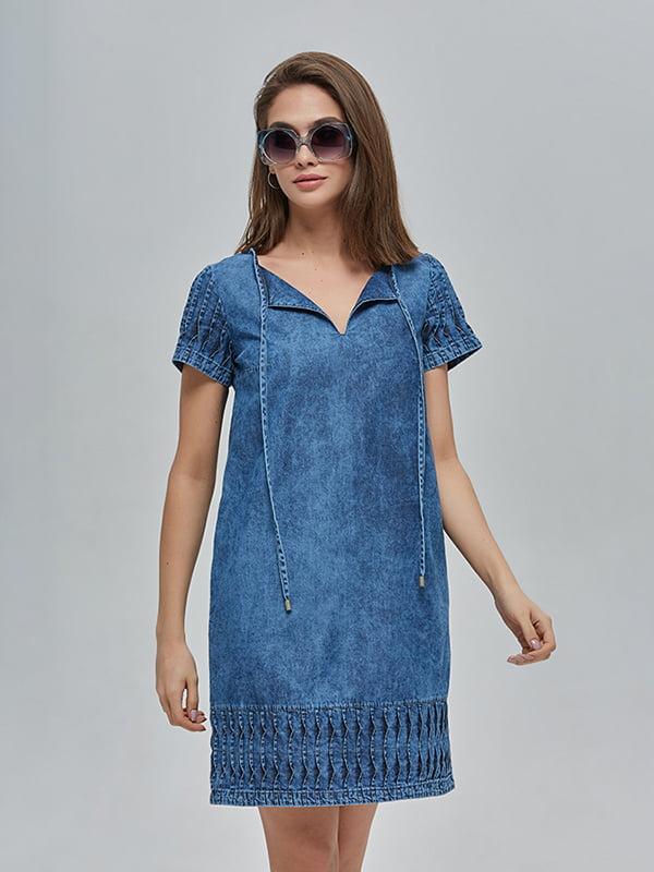 Сукня синя | 4912890