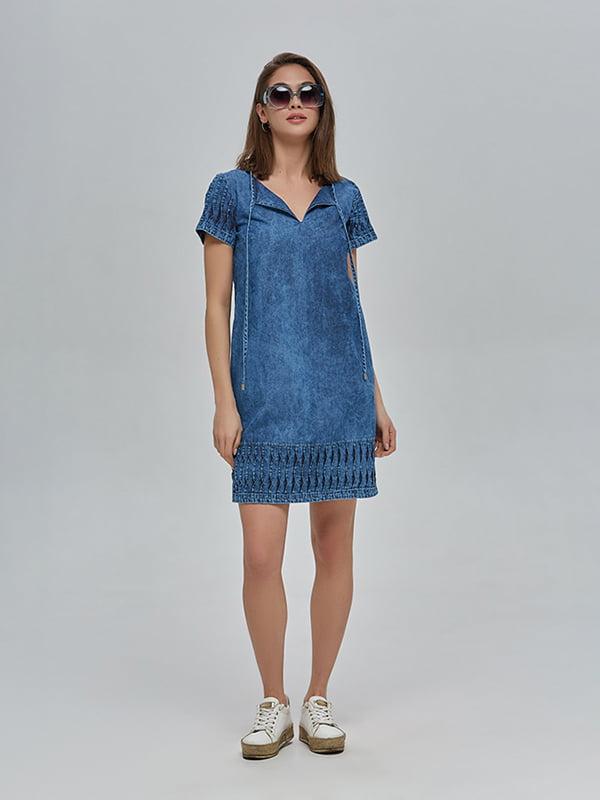 Сукня синя | 4912890 | фото 3
