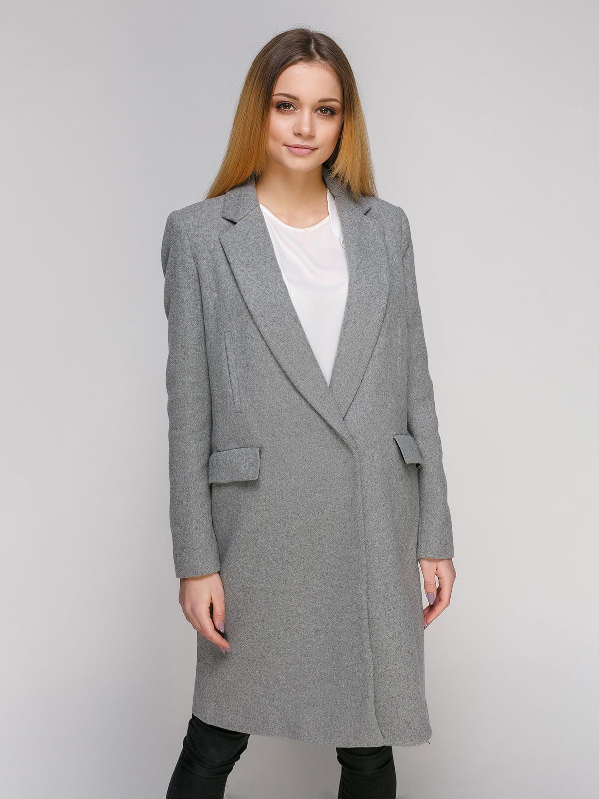 Пальто сіре | 4876002