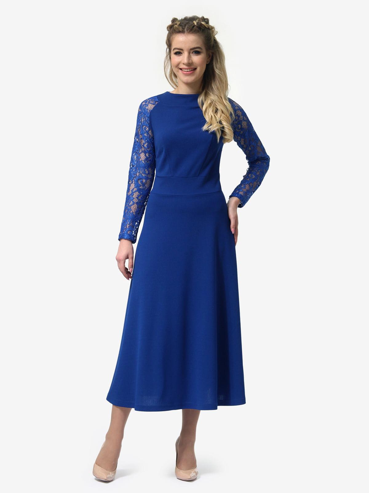 Платье цвета электрик | 4913321 | фото 2