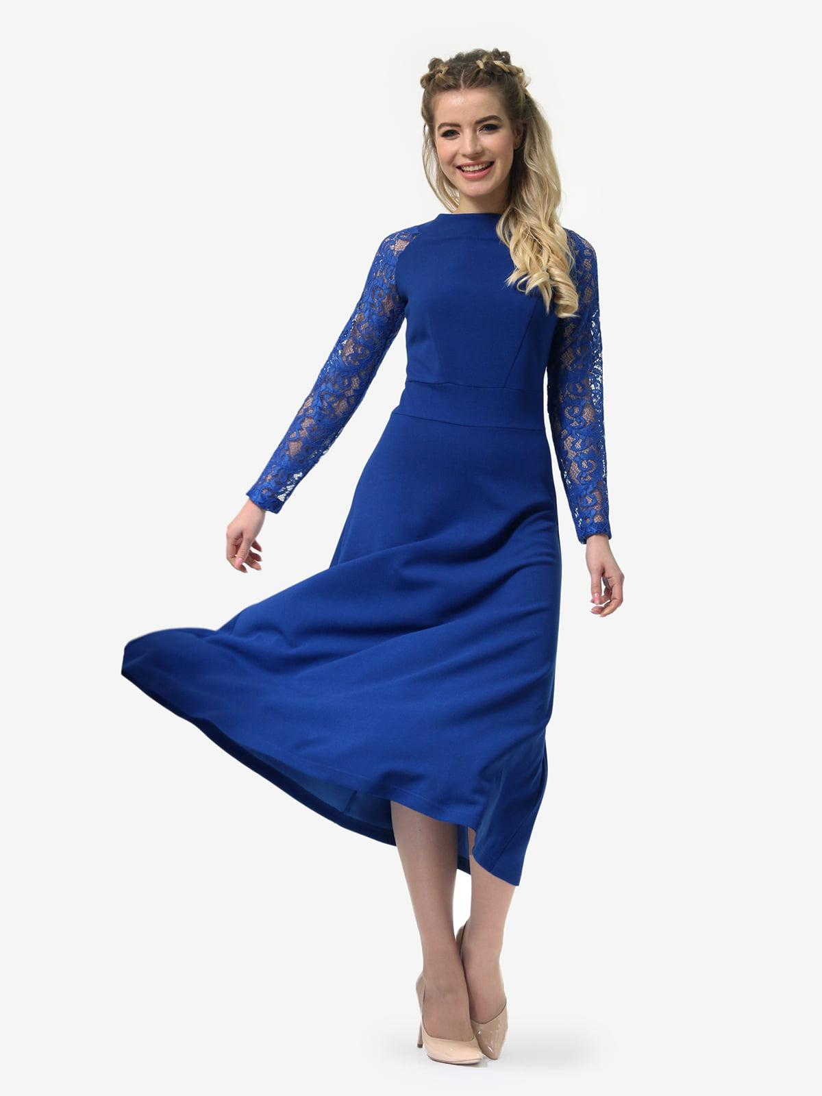 Платье цвета электрик | 4913321 | фото 3