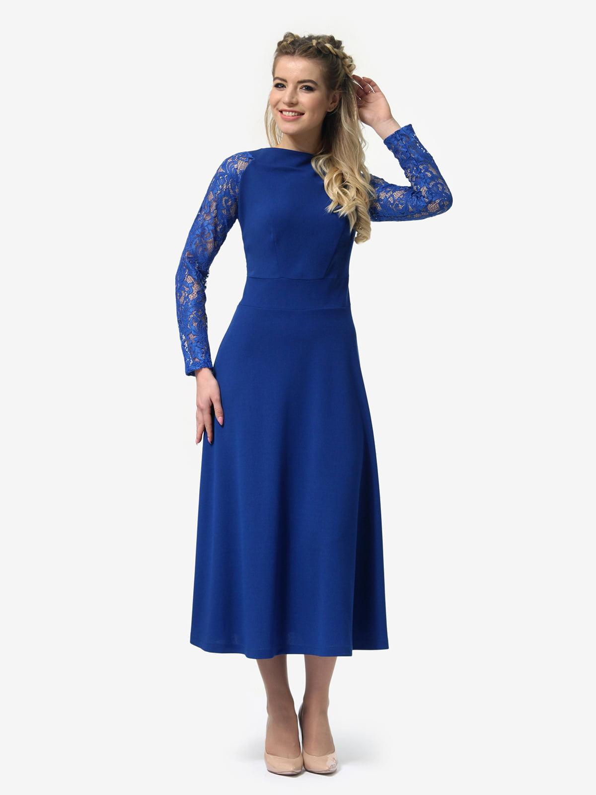 Платье цвета электрик | 4913321 | фото 4
