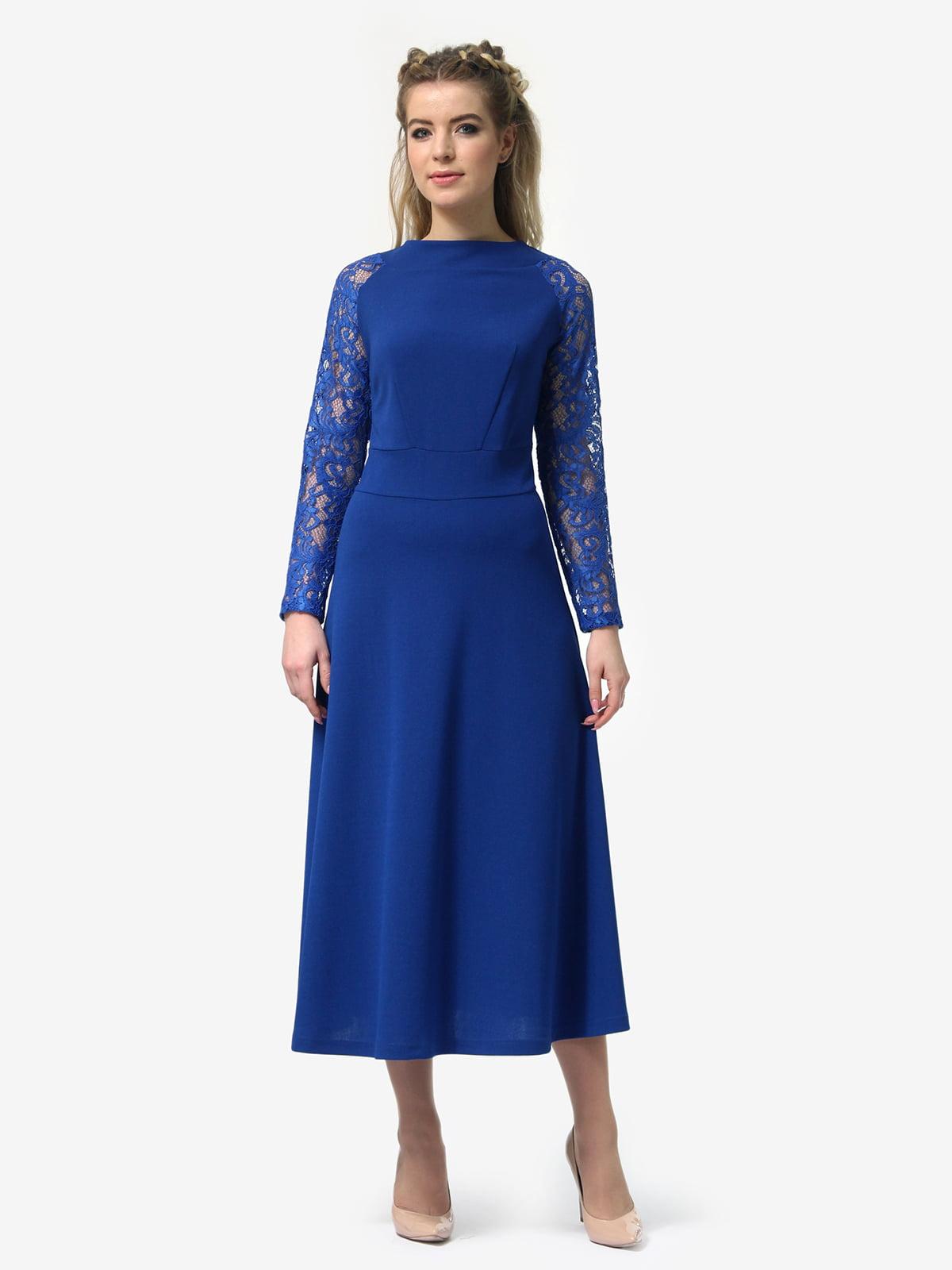 Платье цвета электрик | 4913321 | фото 5