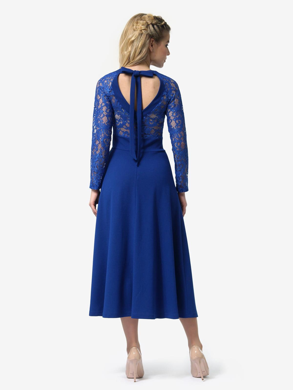 Платье цвета электрик | 4913321 | фото 6