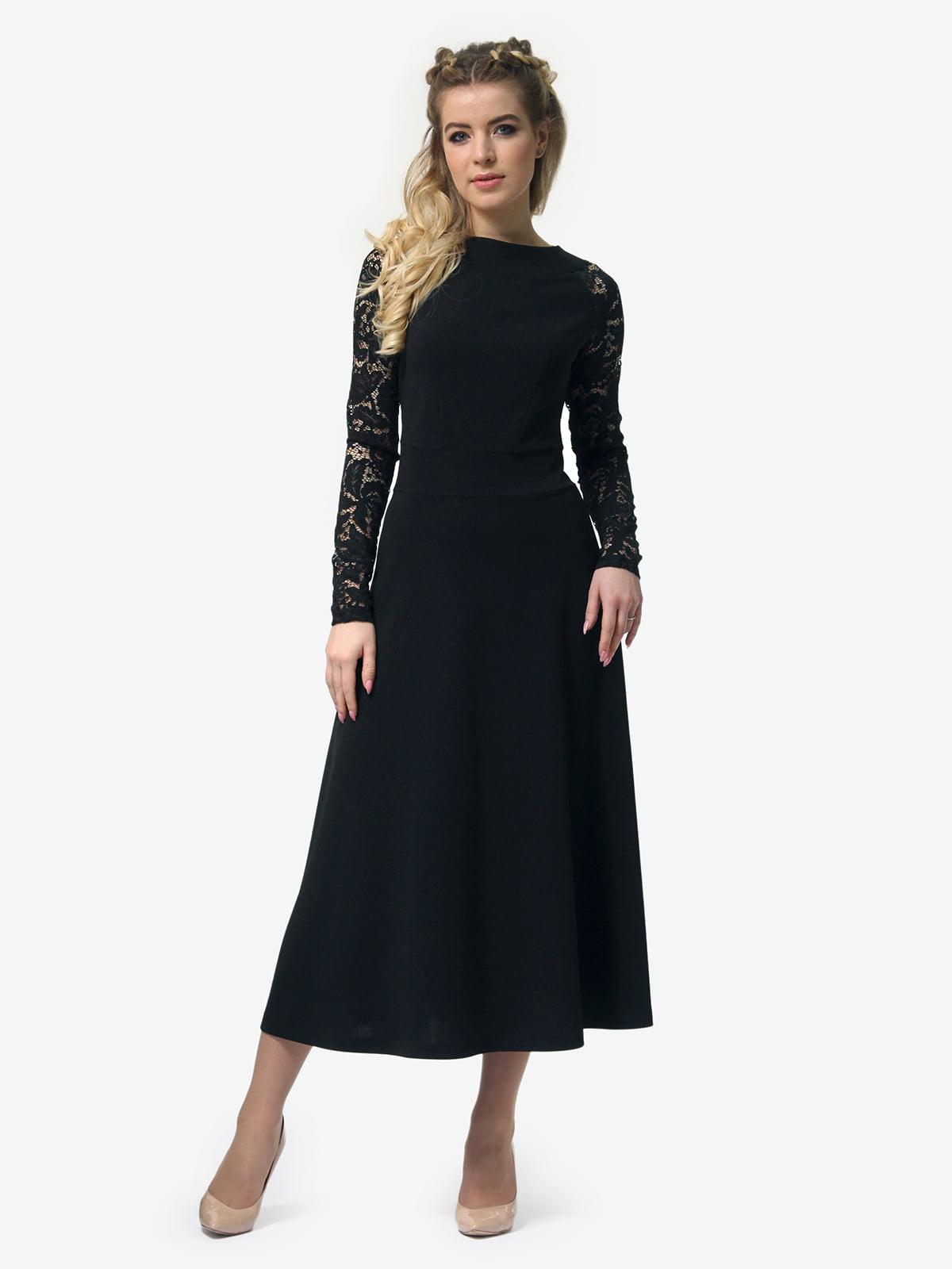 Платье черное   4913322