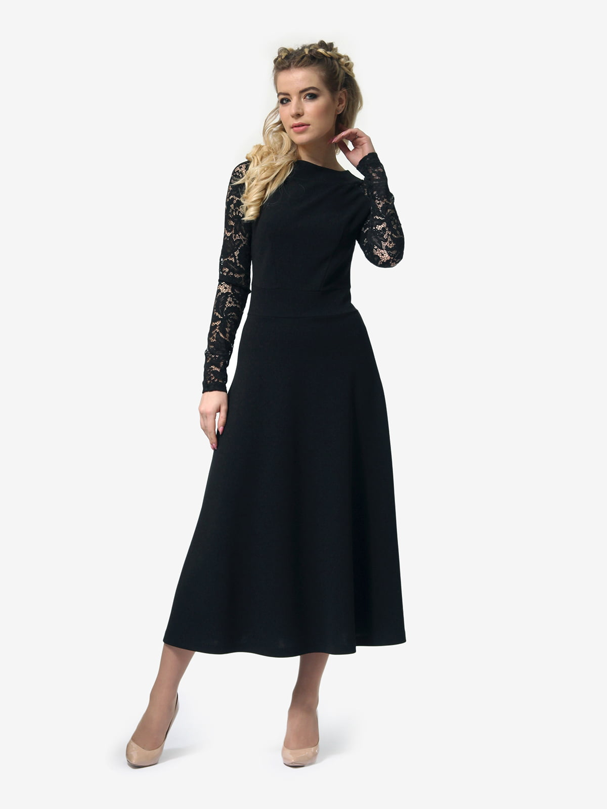 Платье черное   4913322   фото 2