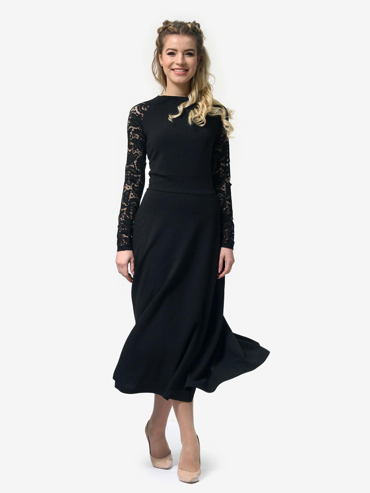Платье черное   4913322   фото 3
