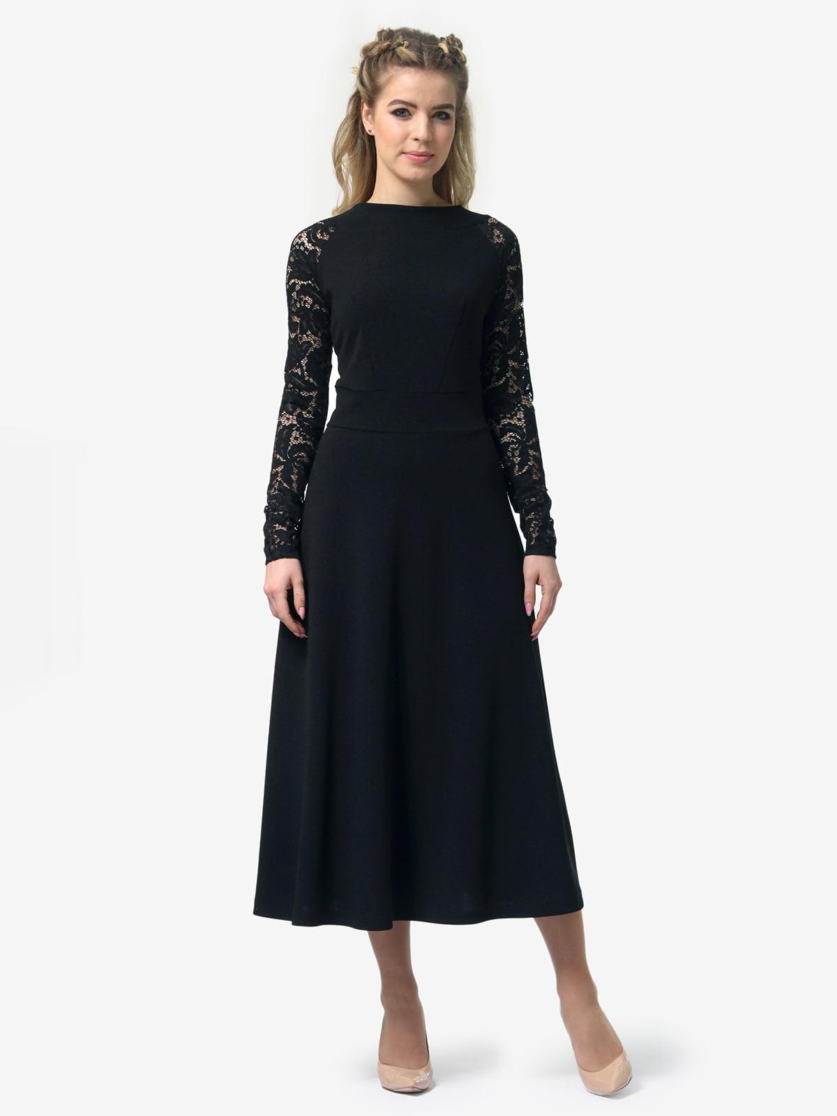 Платье черное   4913322   фото 4