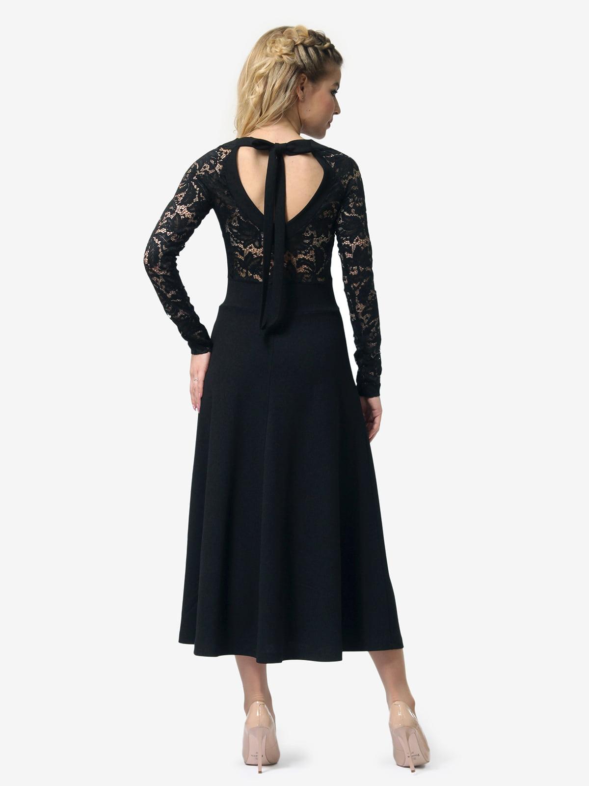 Платье черное   4913322   фото 5