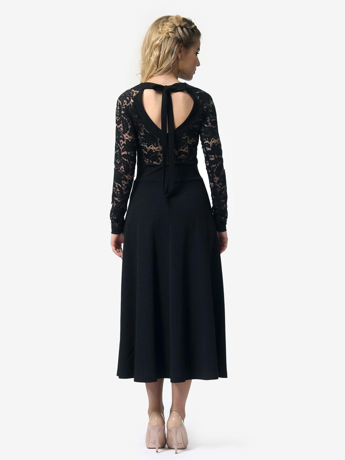 Платье черное   4913322   фото 6