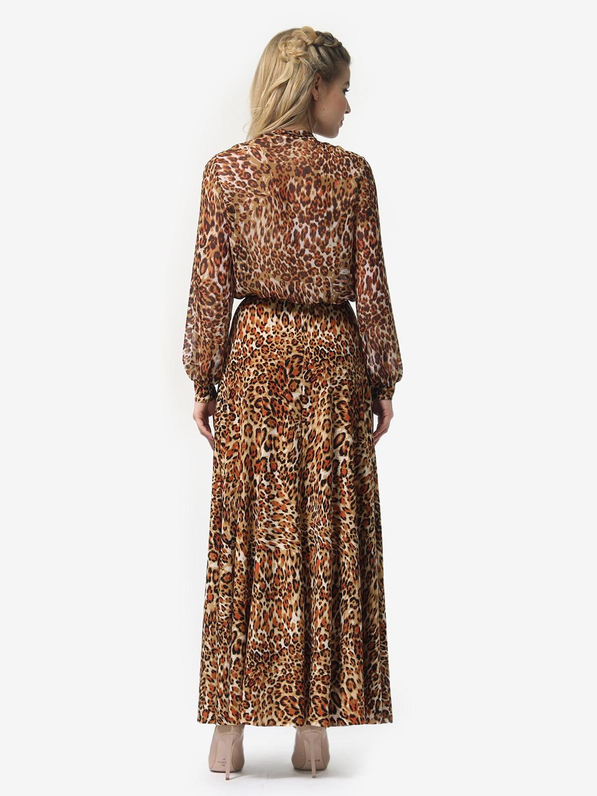 Платье в леопардовый принт | 4913327 | фото 7