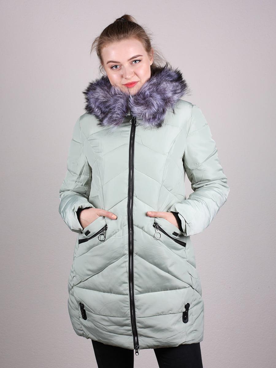 Пальто фисташкового цвета | 4690641 | фото 4
