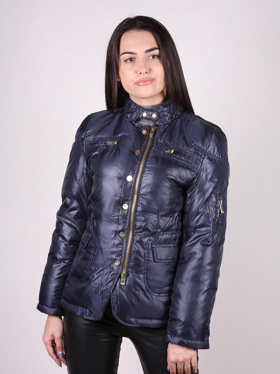 Куртка темно-синяя | 4770581 | фото 5