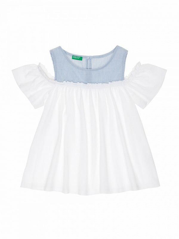 Блуза двухцветная | 4864456