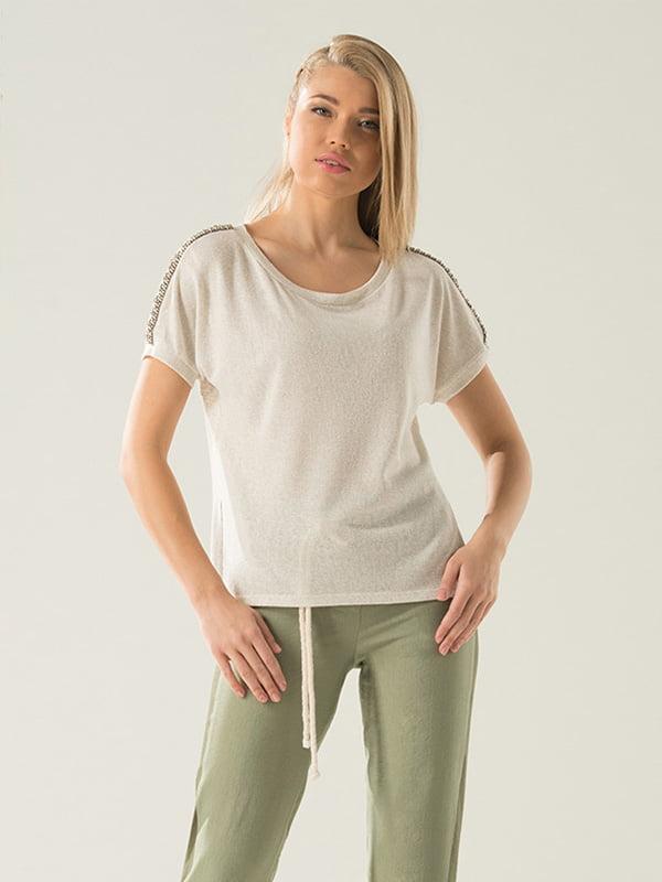 Блуза бежева | 4100549