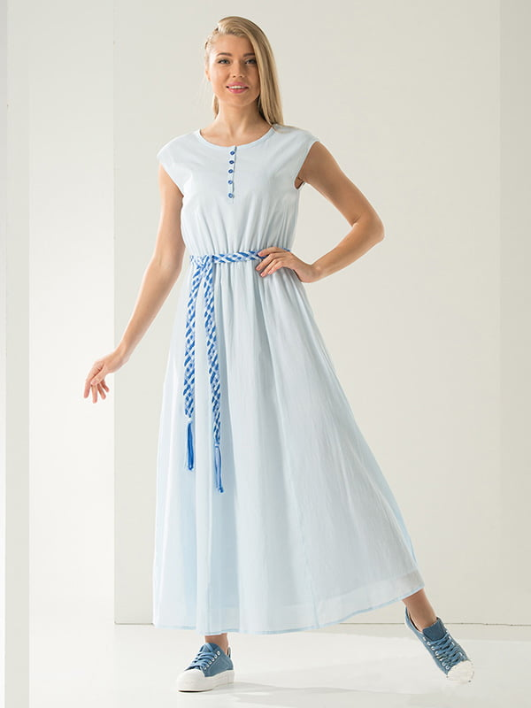 Сукня блакитна | 4100564
